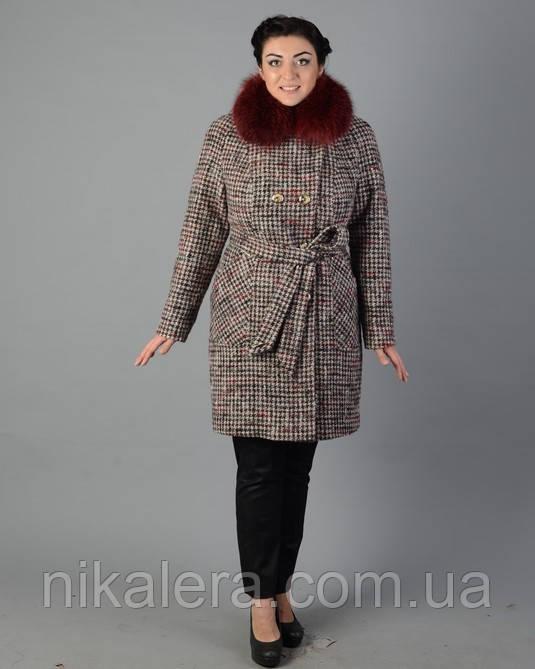 Зимнее пальто с натуральным мехом   продажа f090c53f0e766