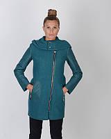 Пальто с капюшоном,на молнии, фото 1
