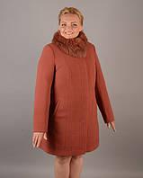 Женское зимнее пальто большие размеры, фото 1