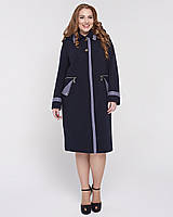 Демисезонное пальто с кашюшоном съемным рр 52-70, фото 1