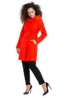 Пальто приталенное с капюшоном , фото 1