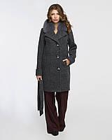 Женское зимнее пальто с мехом 42-50р , фото 1