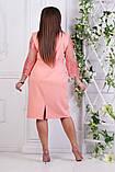 Нарядное платье большого размера 50,52,54,56, фото 5