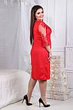 Нарядное платье большого размера 50,52,54,56, фото 2