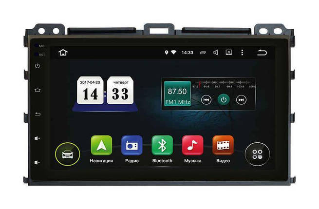 "Автомагнитола Incar Toyota Prado 120 Android 5.1. 9"", фото 2"