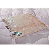 Пуховая подушка 70х70см 100% гусиный пух ЭкоПух
