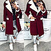 Женское пальто (103)472. (3 цвета) Размеры: 42,44,46. Ткань: кашемир, фото 4