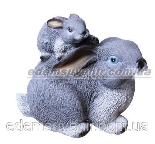 Купить садовые фигуры кроликов