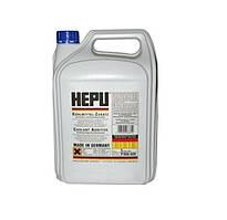 Тосол (антифриз) HEPU (концентрат -80)(синий) 5кг