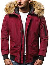 Куртка мужская демисезонная с мехом , фото 2