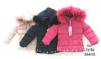 Куртки на меху для девочек оптом, Nature, 1-3 лет., арт. RSG-5521