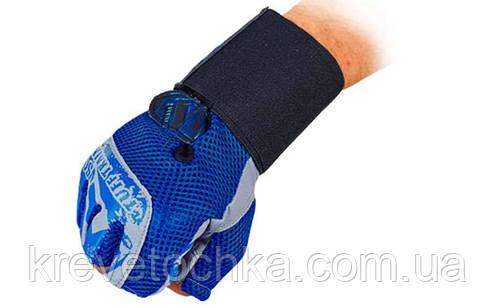 Перчатки атлетические с фиксатором запястья VELO, фото 2