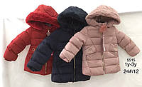 Куртки на меху для девочек оптом, Nature, 1-3 лет., арт. RSG-5515