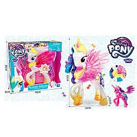 Игровой набор фигурка Литл Пони единорог (my Little Pony) принцесса с крыльями 22 см, музыка, свет, 2вида, 10