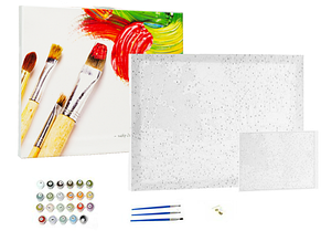 Картины по номерам Радужный конь GEX5331 набор для рисования, фото 2