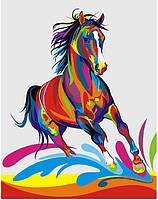 Картины по номерам Радужный конь GEX5331 набор для рисования