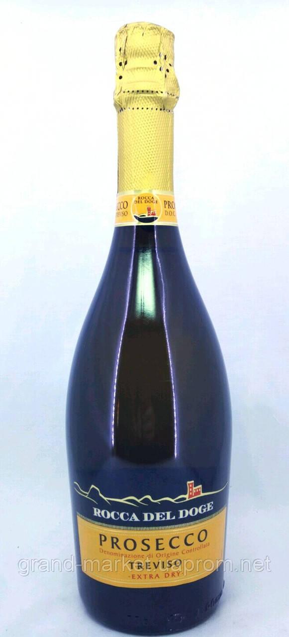 """Вино игристое  """"Prosecco Rocca del Doge Treviso"""" DOC 0.75 l"""