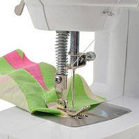 Уценка портативной швейной машинки Mini Sewing Machine (после тестирования)