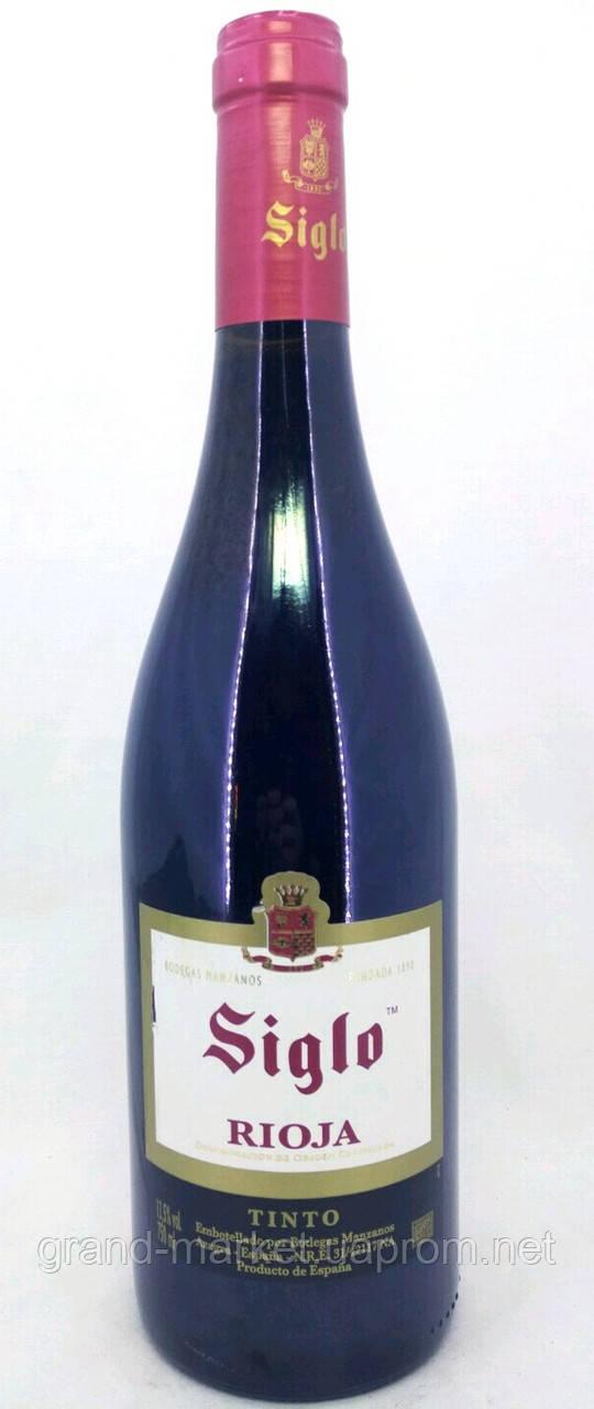 """Вино червоне """"Siglo Rioja DOC"""" 0.75 l"""