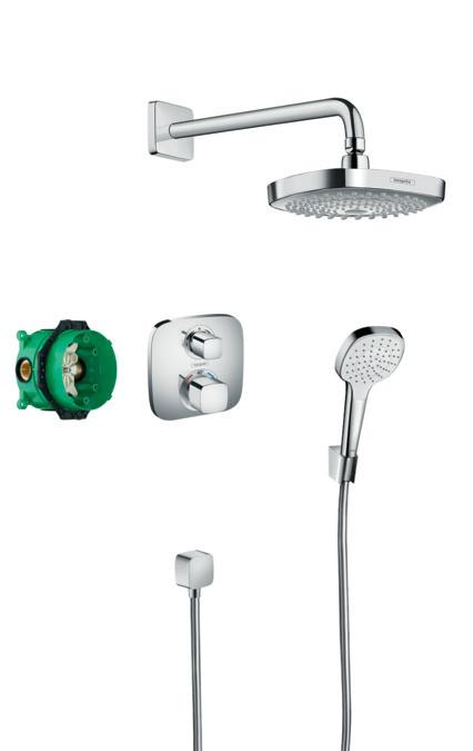 Душевой набор HANSGROHE ShowerSet Croma Select E/Ecostat E