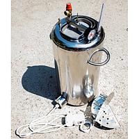 Автоклав Электро ЛЮКС 14Э пол.литр. электро, из нержавеющей стали для домашнего консервирования