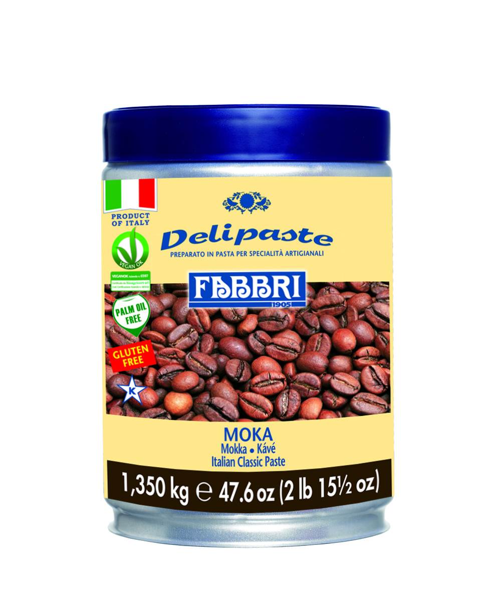 Деліпаста Мокка 1,35 кг TM FABBRI