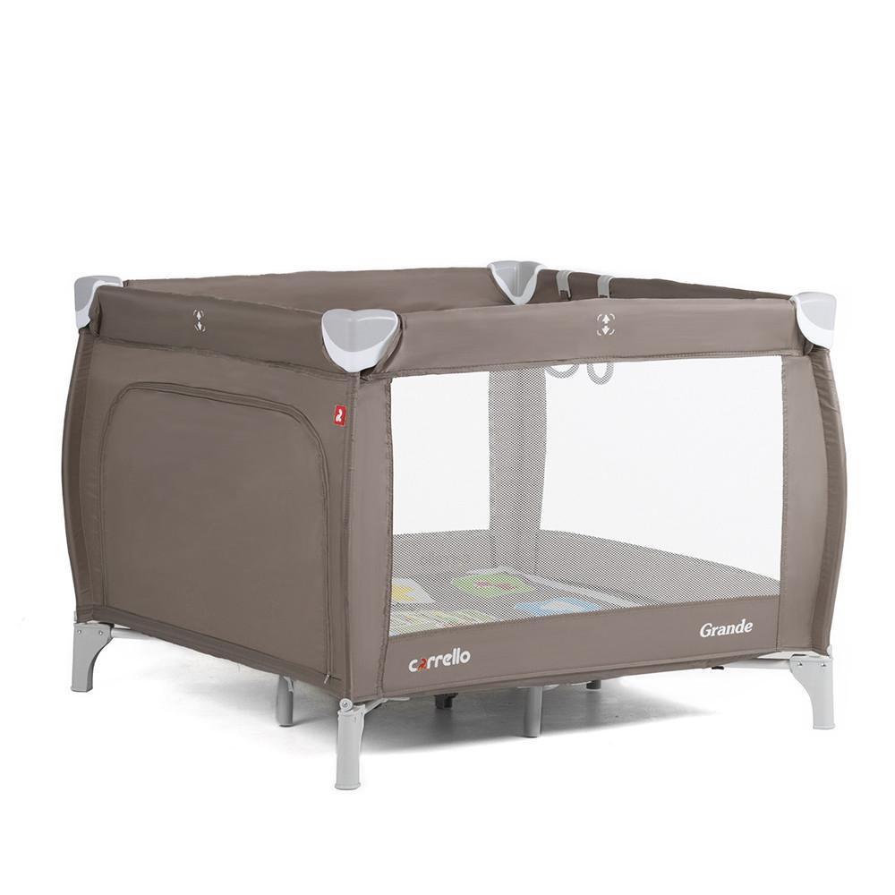 Манеж CARRELLO Grande CRL-9204 Chocolate Brown Гарантия качества Быстрая доставка