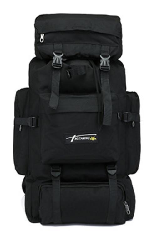 Туристический,тактический,походный рюкзак на 70литров черный