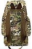 Туристический,тактический,походный рюкзак на 70литров черный, фото 4