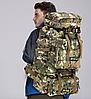Туристический,тактический,походный рюкзак на 70литров черный, фото 7