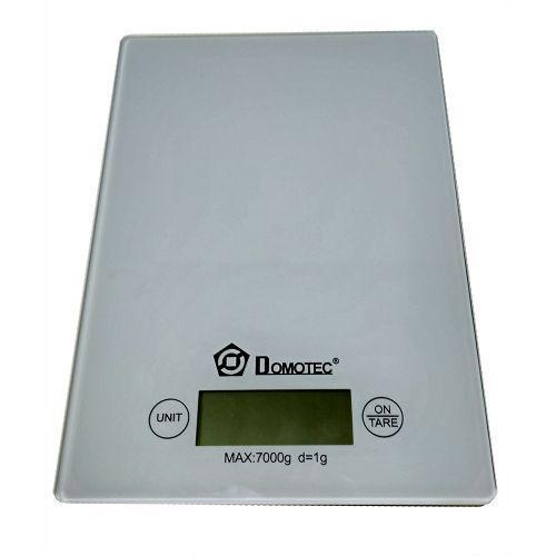 Весы Domotec MS-912 White кухонные электронные до 7кг