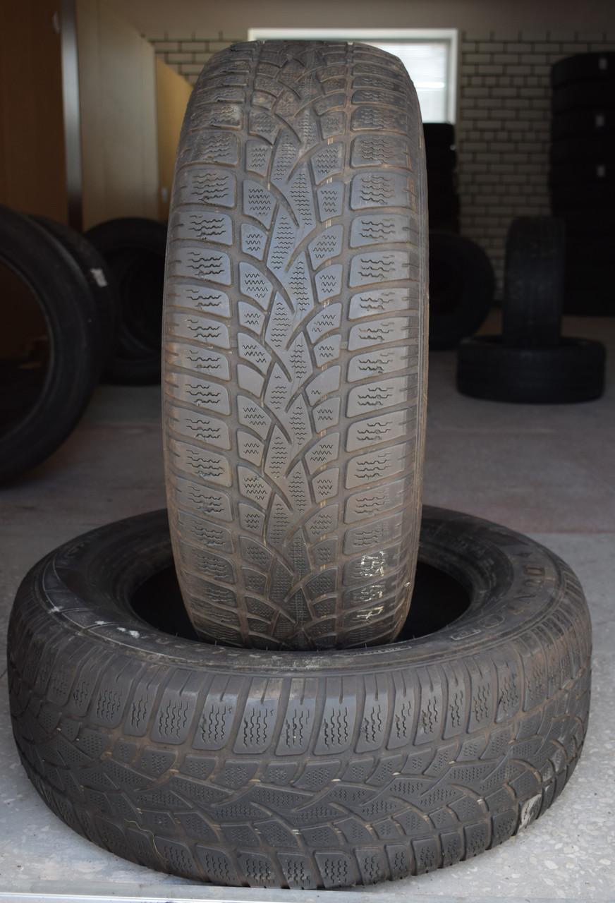 Шины б/у 235/65 R17 Dunlop, ЗИМА, пара