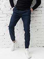 Штаны мужские Pobedov Cotton Pants Feed фирменные молодежные топовые по акции (синие), ОРИГИНАЛ