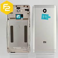 Xiaomi Redmi 4 Pro / Prime Задняя крышка корпус серебро (silver)  + стекло камеры