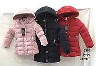 Куртка утепленная для девочек оптом, Nature, 2-8 лет,  № RYG-5359, фото 1
