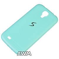 Накладка силиконовая Creative Samsung S4 ( i9500 ) (голубой)