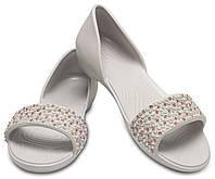 Босоножки кроксы Crocs Lina Embellished D´Orsay. Оригинал. Размер W8, фото 1