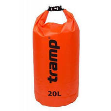 Гермомішок Tramp PVC Diamond Rip-Stop оранжевый 20л (TRA-113-orange)