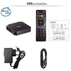 Медиаплеер X96 Mini Android TV Box Vontar приставка 2/16GB, фото 3