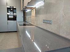 Стільниця з кварцу Technistone Desiree Grey, фото 3