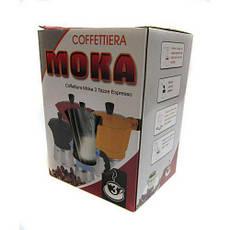 Кофеварка CNV гейзерная 3 чашки R16590 Black (56134), фото 3