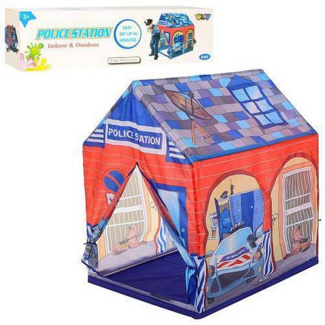 Палатка игровая детская домик Bambi M 5689 полиция (56146), фото 2