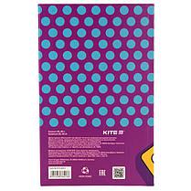 Книга записная KITE BeSound-2 K19-260-2 интегральная обложка В6, 80 листов, клетка, фото 3