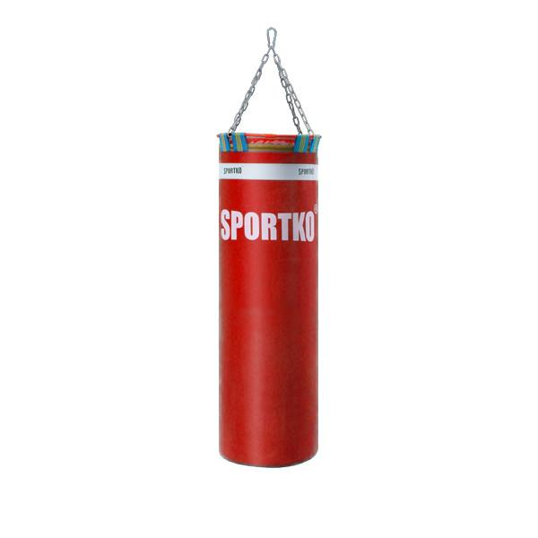 Мешок боксерский ПВХ Sportko Элит h-110см, ᴓ-35см, вес 40кг с цепями арт. МП22, синий
