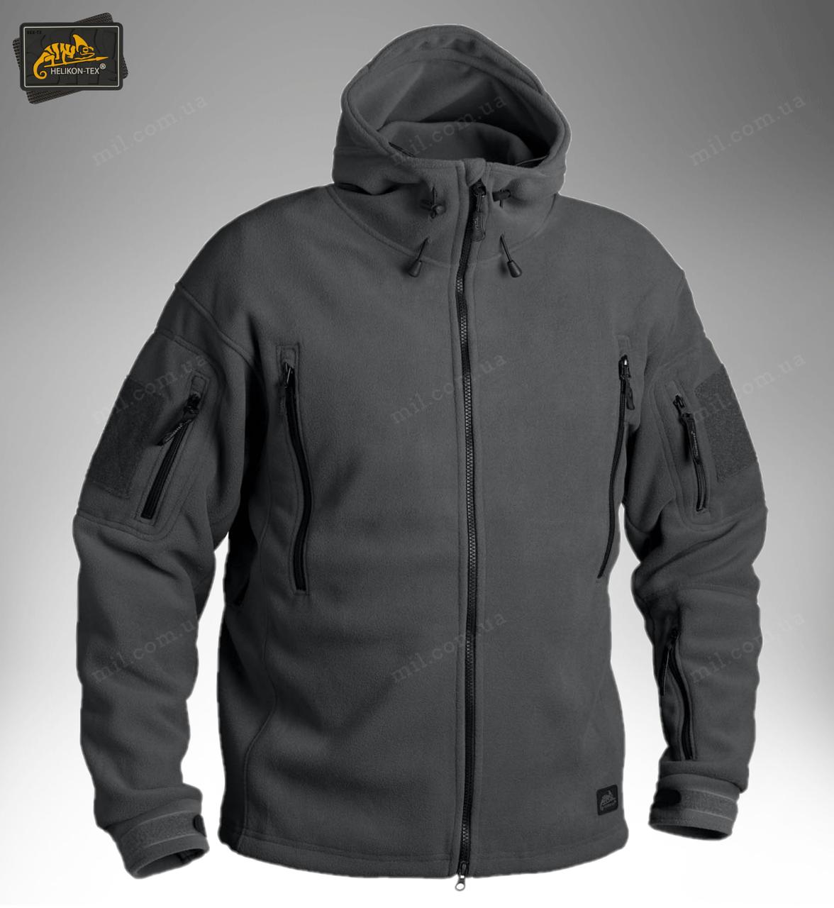 Демисезонная флисовая куртка Helikon-Tex® Patriot (grey)