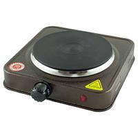 Электрическая одноконфорочная плитка дисковая Atlanfa AT-1755A, фото 1