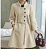 Шерстяное женское пальто.Арт.01164