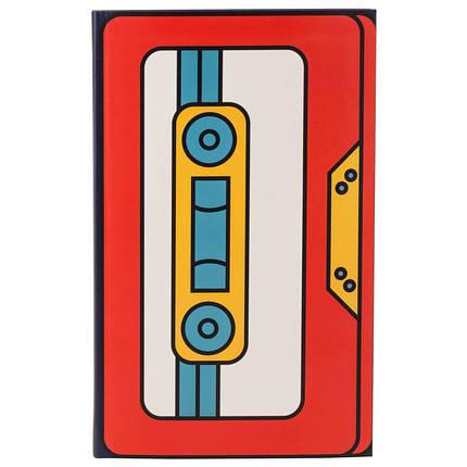 Книга записная KITE BeSound-4 K19-260-4 интегральная обложка В6, 80 листов, клетка, фото 2