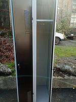 Шкафчик для одежды промышленный б/у, шкаф для сменной одежды бу