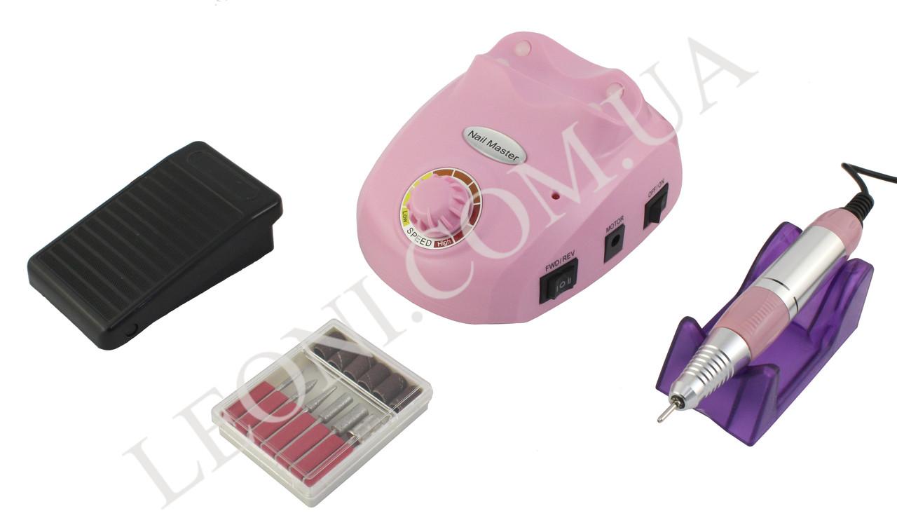 Фрезер для маникюра ZS 603 15W/25000 об.мин (розовый)